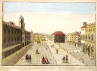 Prospetto della Piazza grande con li suoi condotti di aque, ed imondizie in Parma.