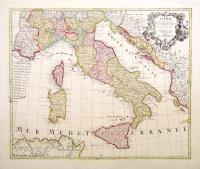 L'Italie dressèe sur les observations de l'Academie Royale des Sciences.