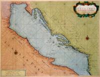 Zee-Kaarte van de Golf van Venetien.