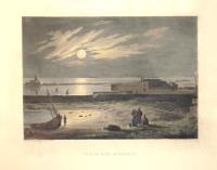 Vue du port de Trapani