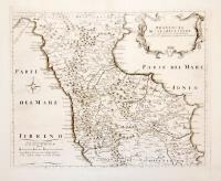 Provincia di Calabria Citra già delineata dal Magini e nuovamente ampliata secondo lo stato presente.