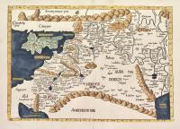 Tabula quarta Asiae complectitur Cyprum insulam, Syriam, Phoniceam, Iudaedam Palestinam, Arabiam Petream, arabiam desertam, mesopotamiam & Babyloniam.