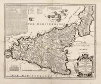 L'isle et royaume de Sicile faisant partie de la Monarchie d'Espagne en Italie.