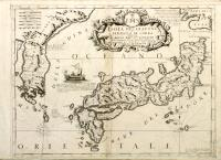 Isola del Giapone e penisola di Corea.