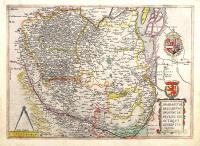 Brabantiae Belgarum provinciae recens ex actaque des(c)riptio.
