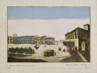 Veduta della Bra di Verona (ripetuta in francese)