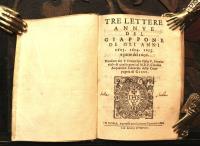 Tre lettere annue del Giappone de gli anni 1603, 1604, 1605, e parte del 1606. Mandate dal P. Francesco Pasio v. provinciale di quelle parti al M.R.P. Claudio Acquaviva generale della Compagni di Giesù.