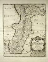 Provincia di Calabria Ultra già delineata dal Magini e nuovamente ampliata secondo lo stato presente