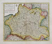 Nuova carta del Regno di Polonia diviso nei suoi Palatinati.