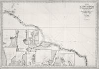 Carte de la côte des Guyanes et de la partie n.e. du Brésil dressée d'apres les travaux de M.M. Roussin, Tardy de Montravel.