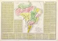 Impero brasiliano dalle più recenti mappe e dall'Atl. per l'Amer…per l'Atlante St. Geog. Polit. Letterario di le Sage edizione di Girolamo Tasso in Venezia.