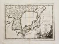 Le isole del Giappone e la Corea delineate sulle ultime osservazioni