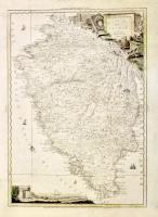 Carta dell'Istria ristampata nel 1805