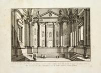 Sala sull'uso degli antichi Romani con Colonne e nicchie ornate di Statue…