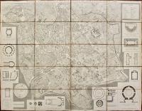 Pianta topografica della città di Roma dell'anno 1841