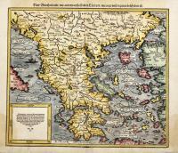 New Griechenlandt/mit andern anstossenden Ländern/wie es zu unsern Zeiten beschriben ist