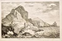 View of the Monte della Libera on Capri