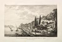 Vue de l'extrémité du Quai & du Faubourg de Chiaia à Naples, prise de Capo di Mergellina.