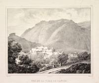 Vue de la ville de Caprée