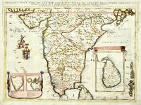 Penisola dell'Indo di qua del Gange e l'isola di Ceilan nell'Indie Orientali.