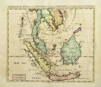 Le Royaume de Siam avec Les Royaumes Qui Luy sont Tributaries & c..