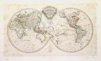Mappe-Monde en deux hémisphères