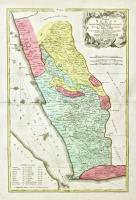 Terrae Yemen maxima pars seu imperii Imami, principatus Kaukebân nec non ditionum Hashid u Bekîl, Nehhm, Chaulân, Abu Arîsh et Aden tabula...