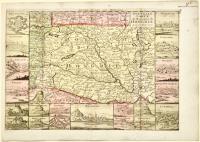 Nouvelle carte du Royaume de Hongrie avec ses forteresses