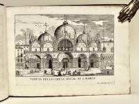 Le fabriche, e vedute di Venetia disegnate, poste in prospettiva, e intagliate…
