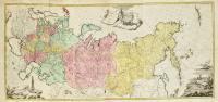 Tabula geographica generalis Imperii Russici ad normam novissimarum observationum astronomicarum concinnata a Ioh. Trescotio et Jac. Schmidio.