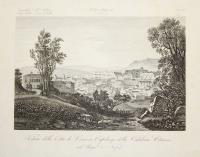 Veduta della città di Cosenza capoluogo della calabria Citeriore nel Regno di Napoli.