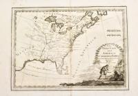 Gli Stati Uniti dell'America il Canada, e la Florida. Carta generale delineata sulle ultime Osserv.ni.
