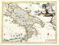 Carta geografica del Regno di Napoli