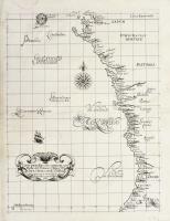 Carta particolare che comincia con l'isola di S. Tomaso ò Tomeè d S Clara è finisce con il c. d'Aldeas