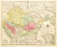 Tabula Hungaria et Regionum quae praeterea a bea dependent.
