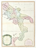 A new map of Sicily the first or the Kingdom of Naples drawn with several additions from Zannoni's map…