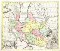 Nova Imperii Persici delineatio juxta…obsevat. Adriani Relandi