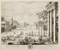 Forum Nervae, imp et Boarium in eo Templa Iovis Statoris Saturni, et Concordiae