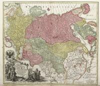 Spatiosissimum Imperium Russiae Magnae juxta recentissimas observationes mappa geographica accuratissime delineatum…