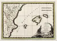 Il regno di Valenza con le isole di Majorica, Minorica e Iviça delineate sulle ultime osservazioni