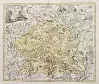 Magnus Ducatus Lithuania in suos Palatinatus et Castellanias divisa, non solum accuratissime delineata…