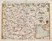 Poloniae et Ungariae tabula