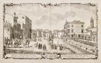 Veduta in Vicenza presa alla parte del quartiero