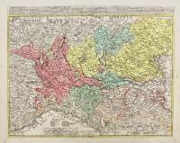 Longobardia divisa in status suos, qui sunt: Ducatus Mediolanensis…Principatus Pedemontinus…