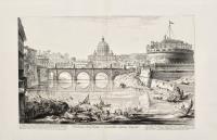 Veduta del Ponte e Castello Sant'Angelo