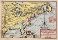 Le Canada ou Nouvelle France, la Floride, la Virginie, Pensilvanie, Caroline, Nouvelle Angleterre et Nouvelle Yorck, l'isle de Terre Neuve, la Louisiane et le cours de la Riviere de Misisipi.