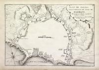 Plan de Palma ville capitalle de l'isle de Majorque