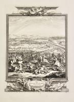 The battle of Luzzara, August the 15, 1702 - Plan of the battle of Luzzara