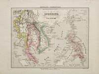 L'Indocina India Transgangetica e le isole Filippine