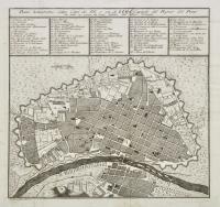 Piano scenografico della città dei Re ò sia di Lima capitale del regno del Perù tal quale era prima che fosse distrutta dall'ultimo terremoto